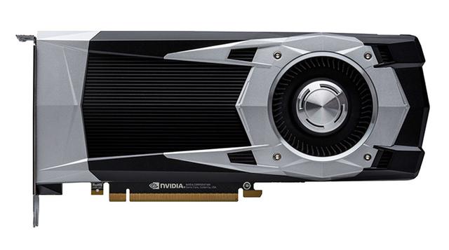 Bovenaanzicht van de NVIDIA P106-100 videokaart, de eerste poging om chipsets specifiek voor crypto-mining te maken.
