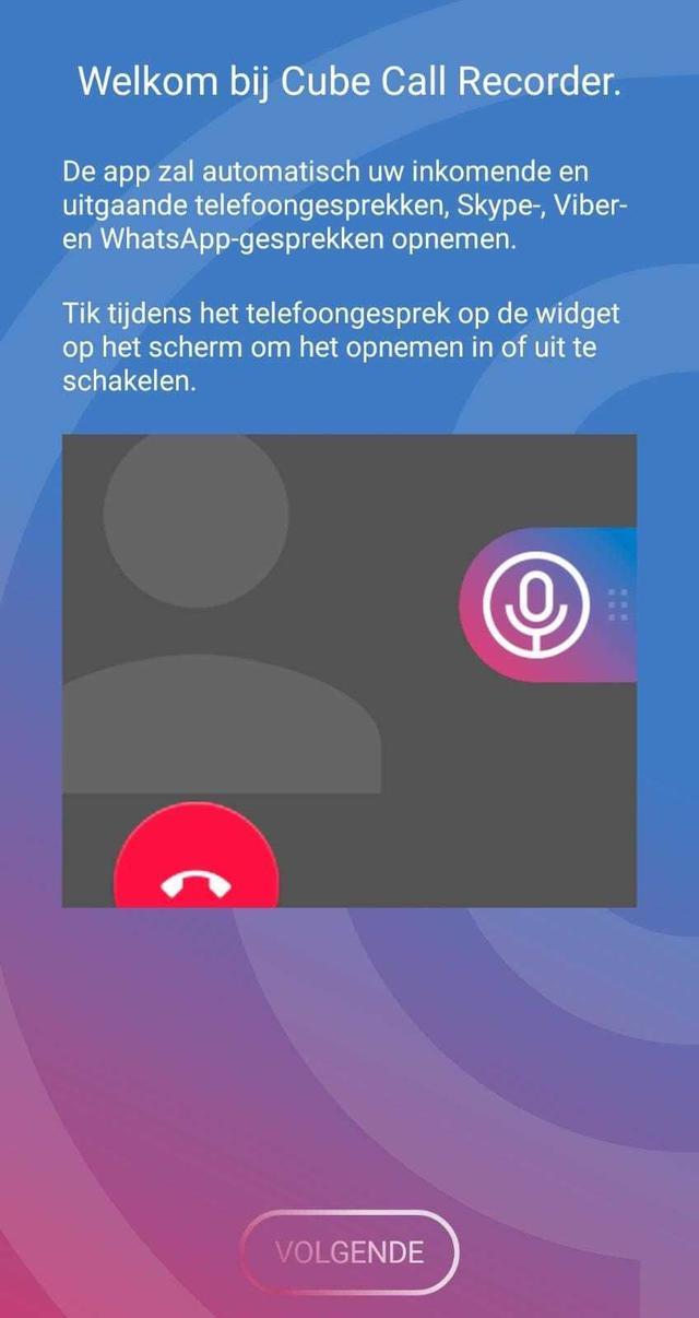 Whatsapp telefoongesprek opnemen