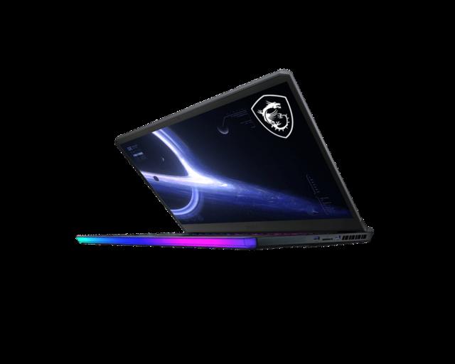 Productafbeelding van de MSI GE76 Raider-laptop.