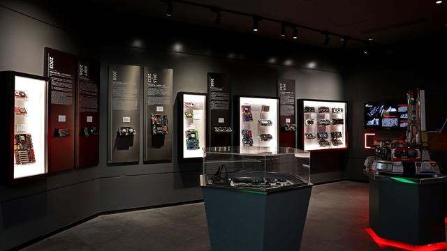 Promotionele foto van het GPU History Museum van Colorful.