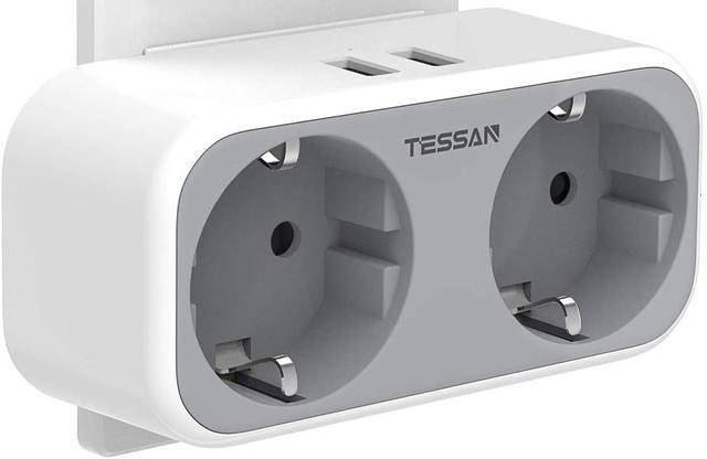 Tessan usb-stopcontact
