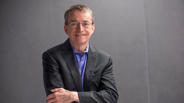 Foto van Pat Gelsinger, huidig CEO van Intel.