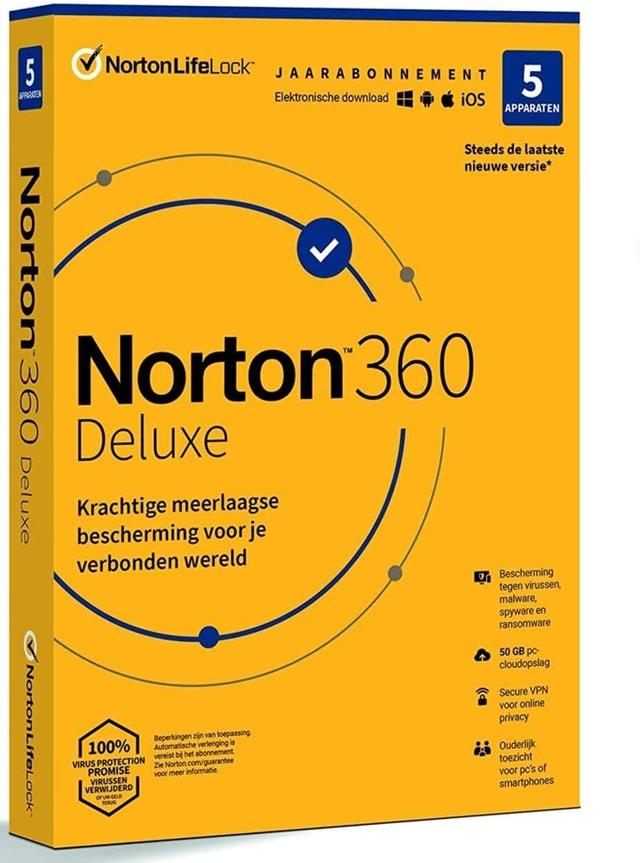 Norton 360 Deluxe 2021