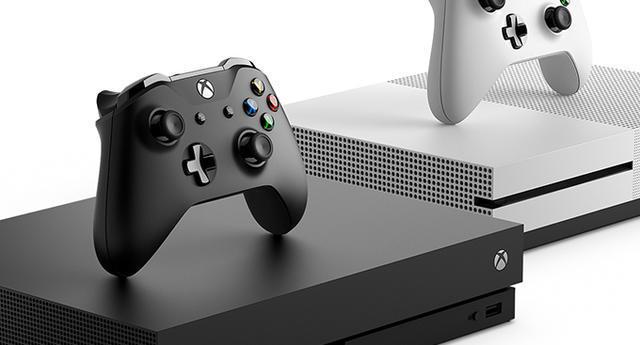 Afbeelding van een Xbox One