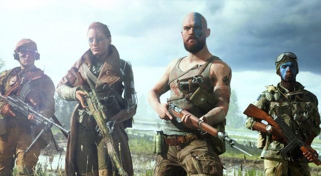 Battlefield V crew