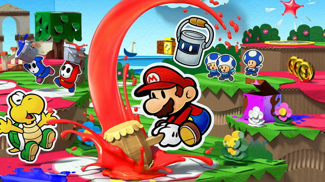 Paer Mario Color Splash