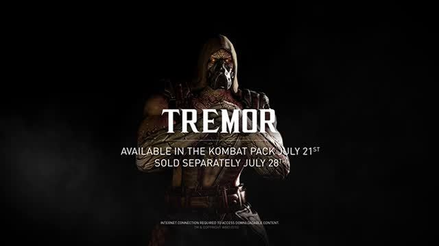 Tremor, Mortal Kombat X