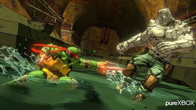 Turtles Mutants in Manhattan