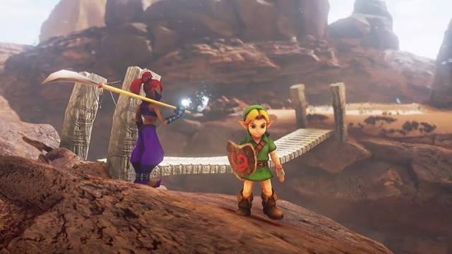 Zelda Unreal 4