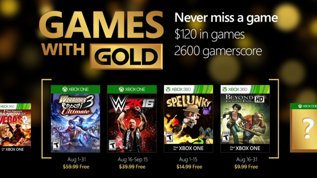 Games with Gold augustus
