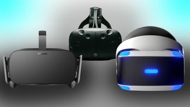 Oculus PlayStation VR HTC Vive