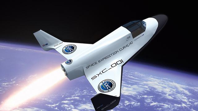 commerciële ruimtevlucht
