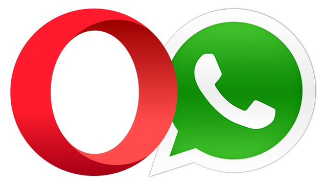 whatsapp in opera