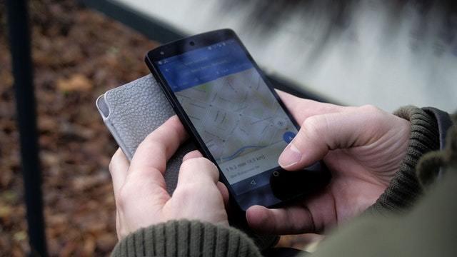wegen aanpassen in google maps