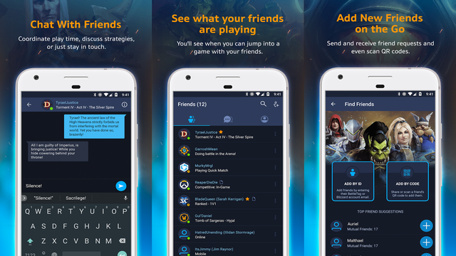 Blizzard battlenet app