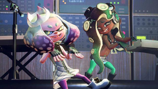 Splatoon 2 Pearl en Marina