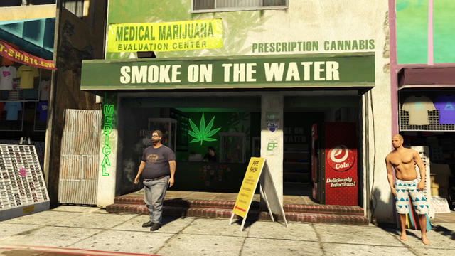 Smoke on the Water in GTA 5 Online