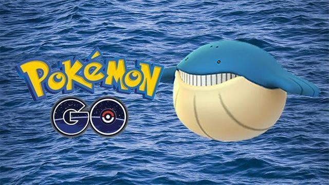 Pokémon Go Wailmer