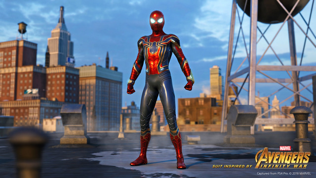 iron spider suit Spider-Man avengers