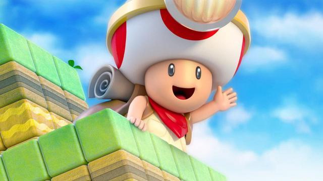 Captain Toad Treasure Hunter