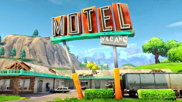 Motel Fortnite