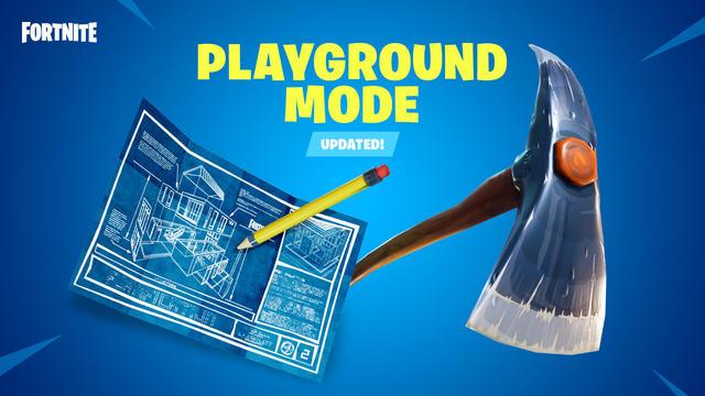 playground mode updated