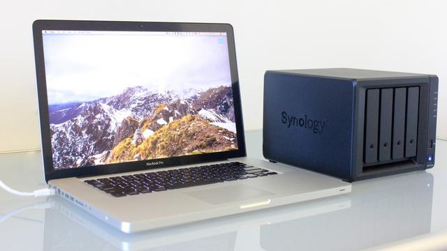 NAS macbook
