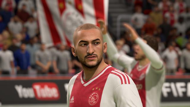 Ziyech Fifa 19