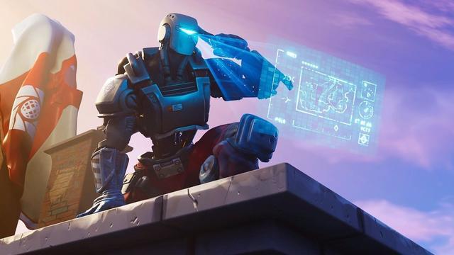 AIM-skin Fortnite Battle Royale