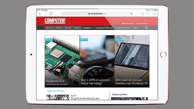 Een bewerkte screenshot zoals afkomstig uit Screenshot Maker Pro