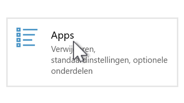 Windows 10: Bestandstypen koppelen aan programma