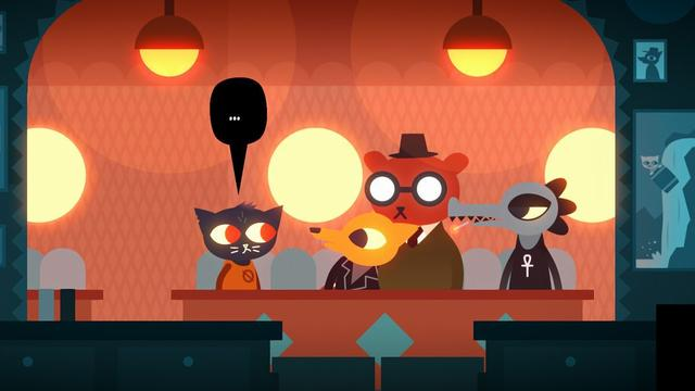 Night at the Woods