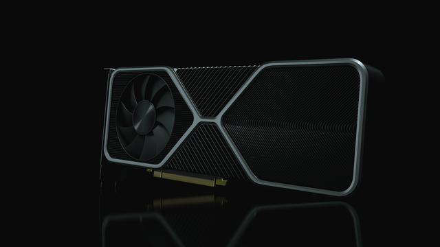 Officieuze 3D-render van hoe de NVIDIA GeForce RTX-referentiekaarten eruit kunnen zien.