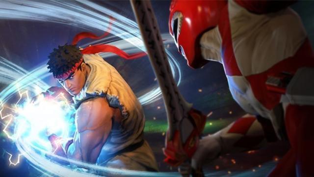Power Rangers v Street Fighter