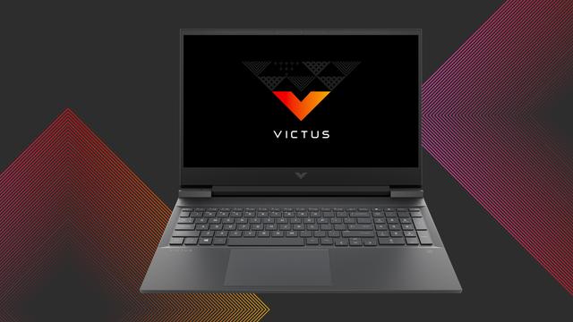 Promotionele afbeelding van de eerste Victus-gamelaptop van HP