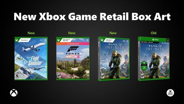 Nieuwe box art Xbox-games
