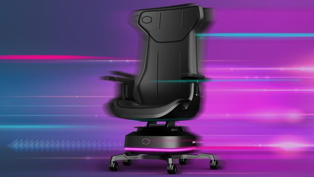 Promotionele afbeelding van de Cooler Master Motion 1-bureaustoel.