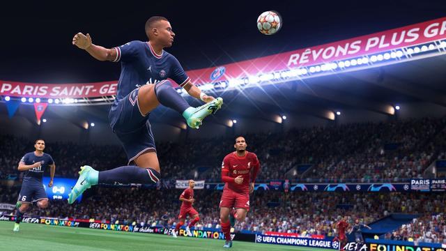 FIFA 22 Mbappe Van Dijk