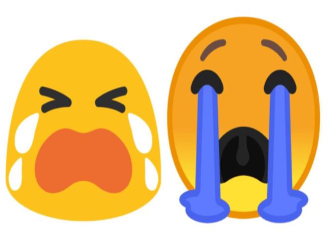 Waarom worden mijn emoji niet getoond?