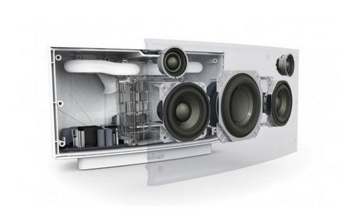 De speakers in een Sonos S5