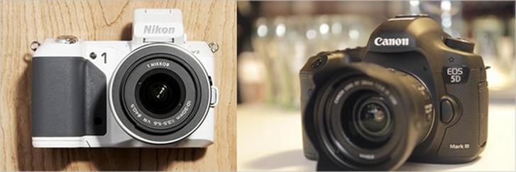 Spiegelreflexcamera vs. systeemcamera