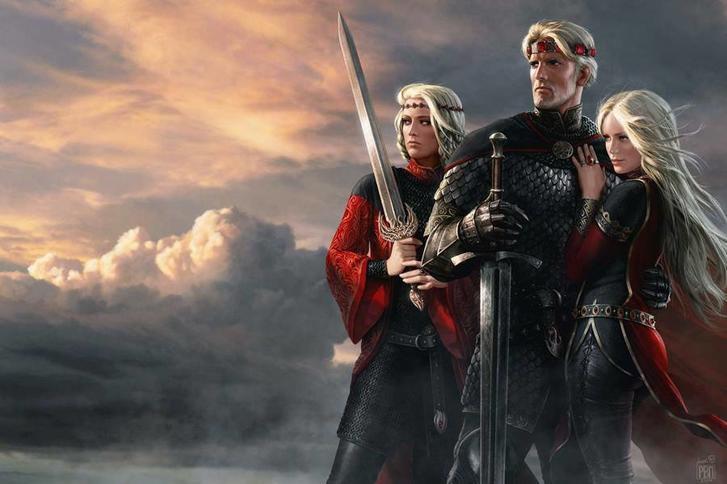 Aegon, Rhaenys en Visenya Targaryen