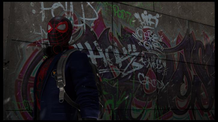 Spider-Man: Miles Morales Graffiti