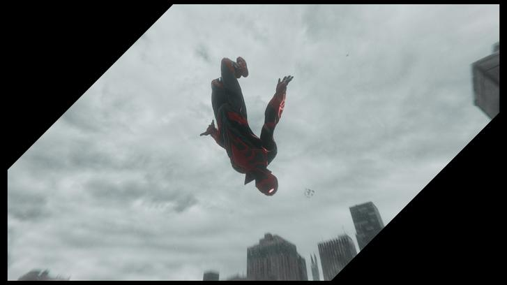 Spider-Man: Miles Morales dive