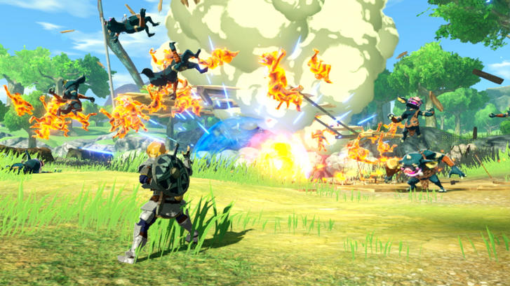 Hyrule Warriors: Age of Calamity combat