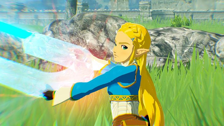 Hyrule Warriors: Age of Calamity Zelda