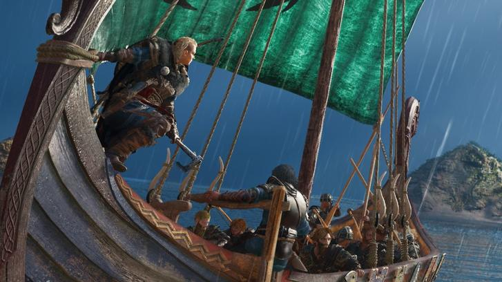 Assassin's Creed Valhalla boat