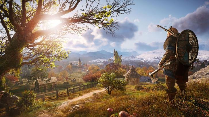 Assassin's Creed Valhalla landscape