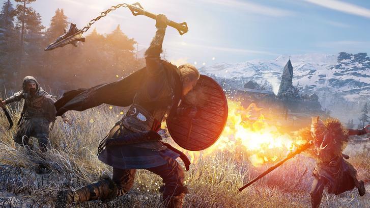 Assassin's Creed Valhalla combat