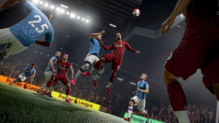 FIFA 21 Virgil van Dijk